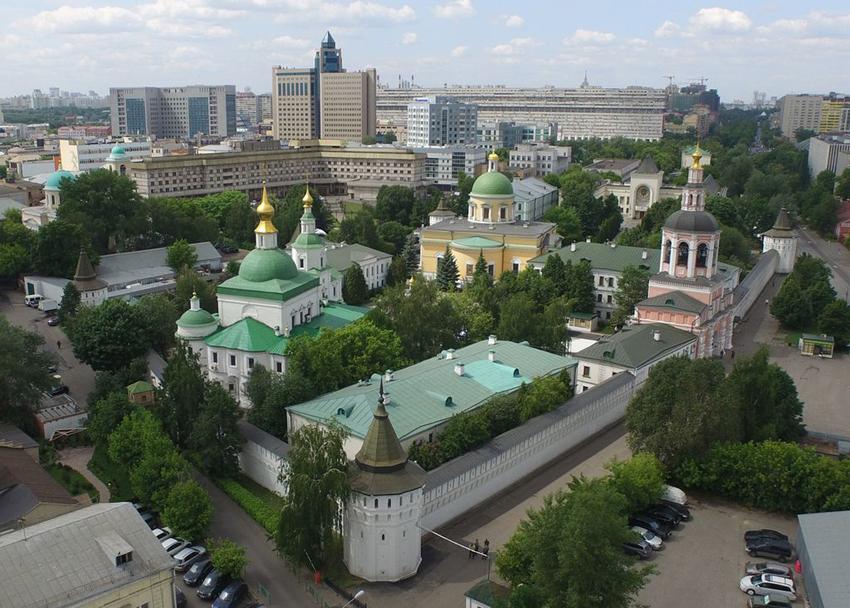 Даниловский монастырь фото